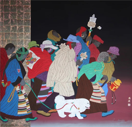 腾模:绘画不能重复古人,不能重复别人,不能重复自己