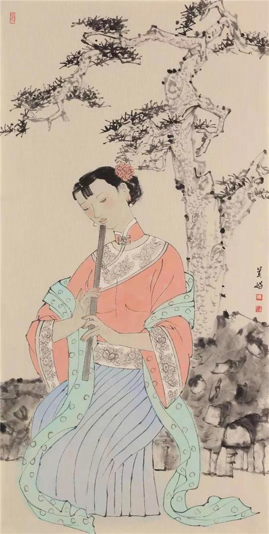 中斯画语――常美娟中国画艺术交流展