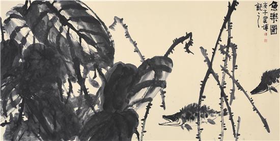 庆祝建党99周年——潘建博个人中国画作品展
