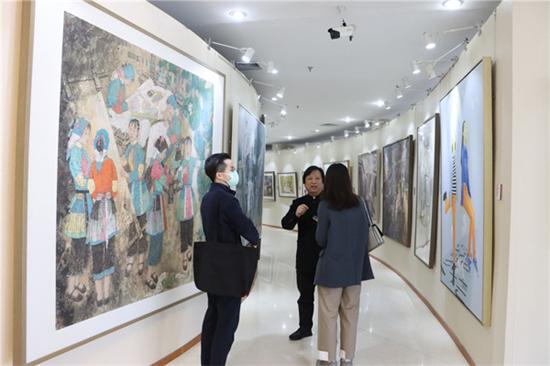 新吴门美术作品走四方特展在京开展