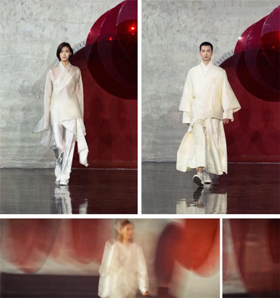 王笑石:光的期希,光明和希望SS21 CFW preview
