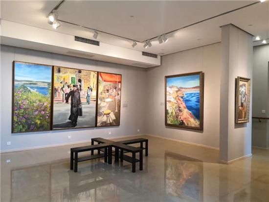 嘉宾发言|马其顿的呼声――林红油画艺术展开幕式