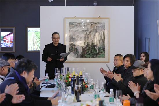 翰墨清芬结扇缘 万溪堂主扇艺暨书画小品微展在京开幕