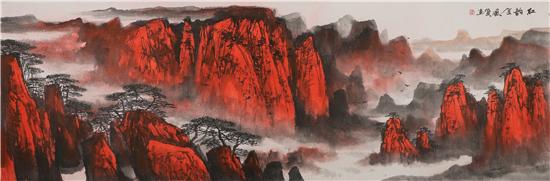 万恒艺术·发现--王依民红色太行专题展在京成功举办