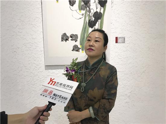 齐风京韵――传承创新・弘扬大写意精神第六届齐辛民艺术中心师生展在京开幕