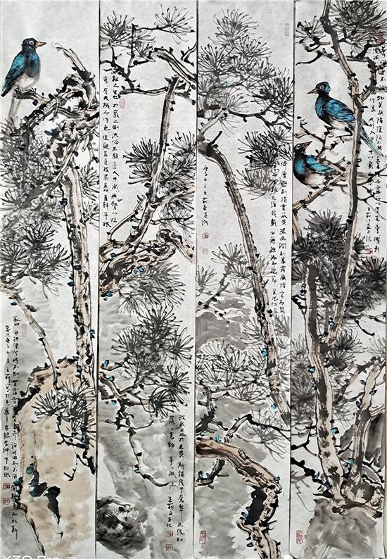 画家王莉――从传统走来,用笔墨抒写大爱。