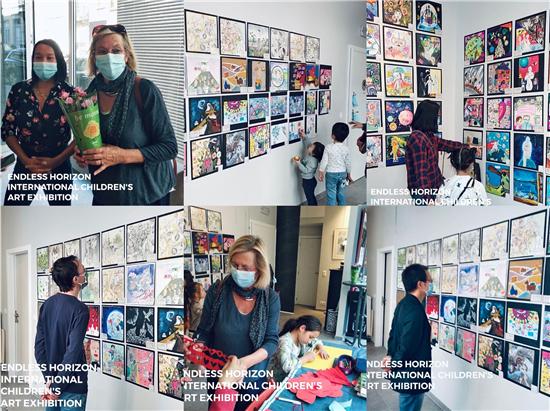 """2020比利时""""无边视界""""国际儿童艺术展在布鲁塞尔圆满开幕"""