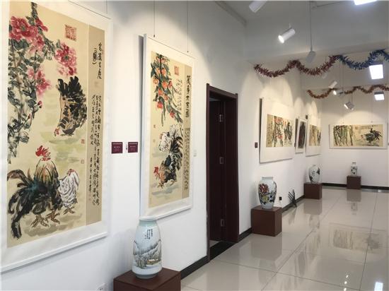 万恒艺术・艺境术雅― ―张若古国画精品展开幕