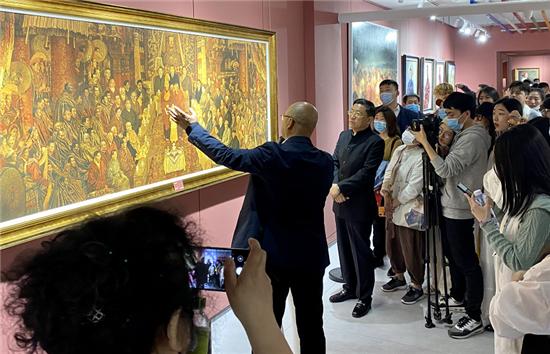 刚坚艺术中心《西藏面孔》于小冬油画展圆满开幕