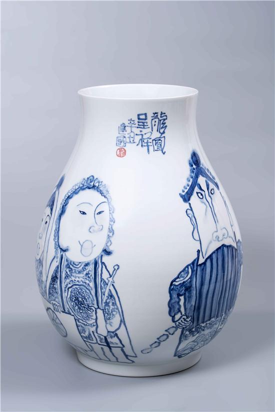 郭建国― ―景德镇画瓷