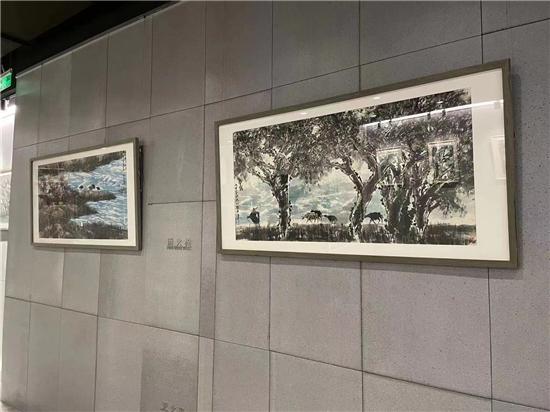水墨居然――第二届中国书画名家作品展在京举行
