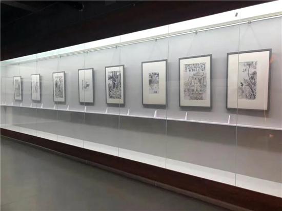 孙本见——山水画作品展在侨乡美术馆开幕