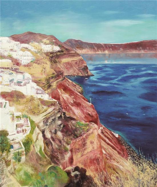 众家评论|林红的油画艺术